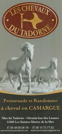 Télécharger la plaquette des chevaux du Tadorne